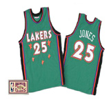 Eddie Jones 1995 Lakers Rookie Game Jersey