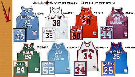 Vintage Collegiate Throwbacks